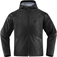 Icon Merc Stealth Graphic Motorcycle Jacket / Stealth - All Sizes