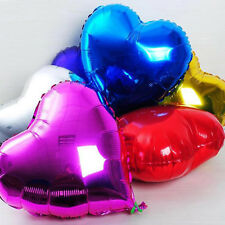 18'' Heart Foil Helium Balloons For Wedding Birthday Party Engagement Decor HF