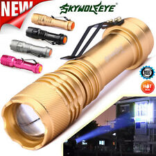 5000LM CREE Q5 AA/14500 3 Modes ZOOMABLE LED Flashlight Torch Super Bright Lamp