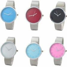 Fashion Women's Watch Stainless Steel Dial Analog Quartz Bracelet Wrist Watches