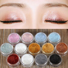 Women Glitter Loose Powder Glitter Eyeshadow Eye Shadow Cosmetic Pigment 7Colors