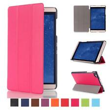 "PU Leather Skin Smart Cover Folio Stand Case for 8"" Huawei MediaPad M2 Tablet"