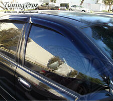 2pc Out-Channel 2mm Sun Guard Deflector Visor Honda Civic 2/3DR Cpe HB 1996-2000