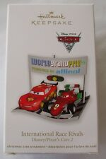 Hallmark 2011 Walt Disney Lightning McQueen Pixar Cars Race Christmas Ornament