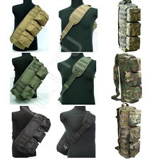 Brand New Military Camping Hiking Molle Hand Shoulder Sling Pouch Bag Backpacks