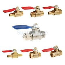 Various Ball Valve Threaded Stainless Steel Water Oil Switch 1/4'' -1/2'' PICK