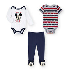 """Disney Baby 3 Piece """"Bring on the Smiles"""" Mickey Mouse Play Set with 2"""
