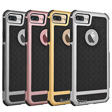 Hybrid Shockproof Rugged Silicone Slim Hard Case Cover for iPhone 7 / 7 Plus