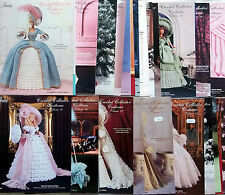 * Paradise  Crochet Fashion Doll Barbie Collector Costume Patterns YOU CHOOSE