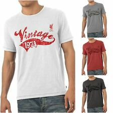 Official LIVERPOOL Football Club FC Personalised Mens Vintage T-Shirt Men's