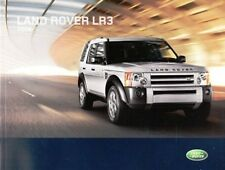 2008 08 Land Rover LR3  Sales  brochure