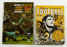 1967 College Football Handbook & 1969 Official Collegiate Football Record Books