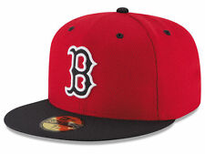BOSTON RED SOX MLB ON FIELD AUTHENTIC NEW ERA 59FIFTY FITTED 2-TONE HAT/CAP NWT