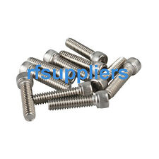 "100X kinds of Stainless Steel Hexagon Socket Head Cap Screws #6-32*1/4""/3/8"" New"