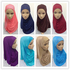 Muslim Women Hijab Caps Islamic Amira Hijab Scarf Head Cover Shawls Headscarf