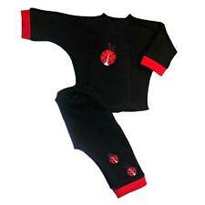 Unisex Baby Red Ladybug 2 Piece Clothing Outfit 4 Preemie and Newborn Sizes