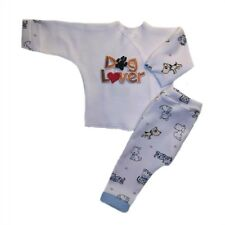 Unisex Baby Dog Lover 2 Piece Clothing Outfit 4 Preemie and Newborn Sizes