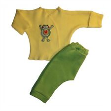 Jump for Joy Little Frog 2 Piece Baby Clothing Outfit 4 Preemie & Newborn Sizes