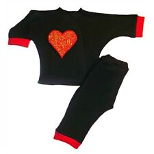 Red Heartbreaker 2 Piece Baby Clothing Outfit 4 Preemie & Newborn Sizes