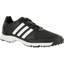 MENS ADIDAS TECH RESPONSE GOLF SHOES F33550 CORE BLACK/WHITE/CORE BLACK
