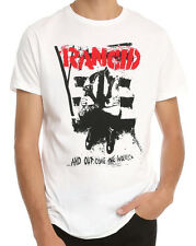 Rancid ...And Out Come The Wolves White T-shirt - BRAND NEW