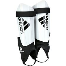 adidas Ghost Club 2016 - 2017 NOCSAE Shin Guard Strap Shield White - Black