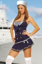 sexy Sailor Sailor Marine Navy Matrosin Ladies Fancy Dress Carnival