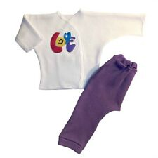 Baby Girl Smiling Love Pants Shirt Clothes Outfit - 4 Preemie and Newborn Sizes