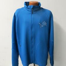 Detroit Lions Mens X-Large - 2X-Large Full Zip Softshell Midweight Jacket LIO 42