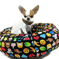 Emoticon  Round Pet Bed  Emoji Cat Dog Bed Group One Dog Gallery