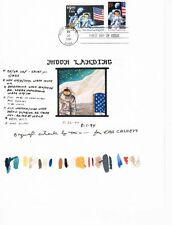 1994 First Moon Landing 25th Year $9.95 Express Mail  Sc2842 Kah Cachets Proof