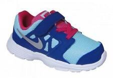 USED Girl's Toddler NIKE DOWNSHIFTER 6 Blue/Pink 685164 Athletic Sneakers Shoes