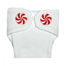 Peppermint Unisex Baby Christmas Diaper Cover 4 Preemie and Newborn Sizes!
