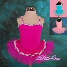 Girl Lace Ballet Tutu Dance Costume Fairy Fancy Dress Toddler Size 2 3 4 5 BA016