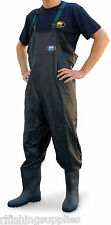 New Lineaeffe PVC Chest Waders size 8 9 10 11 Carp Fly Coarse Fishing Tackle