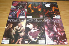 Marvel Illustrated: Man in the Iron Mask #1-6 VF/NM complete three musketeers