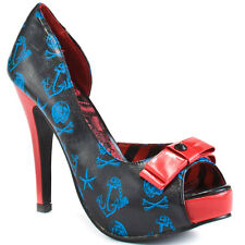 IRON FIST DONT HOLD YOUR BREATH LADIES PLATFORM SHOES