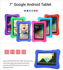 """7"""" Google Android 4.4 Quad Core 16GB Camera WIFI Tablet PC Bundle CASE Kids Game"""