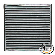4x Cabin Air Filter for 2002-2006 Toyota Camry, 2004-2008 Toyota Solara