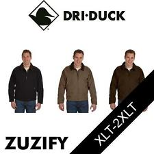 Dri Duck Tall Outlaw Boulder Cloth Jacket with Corduroy Collar. 5087T