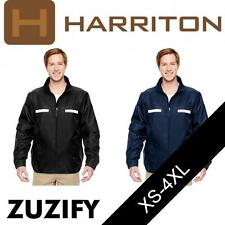 Harriton Mens Fleece-Lined All-Season Jacket. M770
