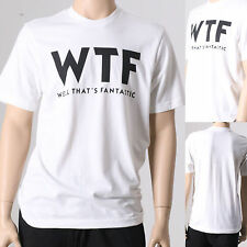 Mens WTF WELL THATS FANTASTIC Funny Hipster Tumblr Short Sleeve T-Shirt Medium