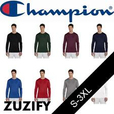 Champion Double Dry Performance Long Sleeve T-Shirt. CW26