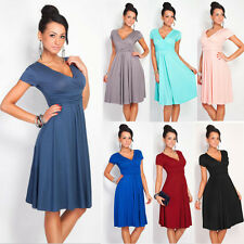 Sexy Women's Short Sleeveless Party Dress Evening Cocktail Pleated Casual Dress'
