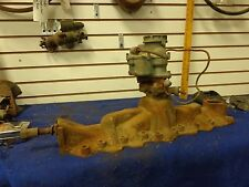 1946-1948 FORD FLATHEAD INTAKE MANIFOLD WITH MODEL 94 CARBURETOR