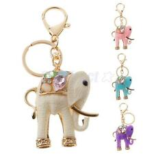 Resin Elephant Keyring Keychain Handbag Car Key Ring Chain Purse Pendant Gift