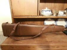 Vintage Leather Leg of Mutton Gun Case