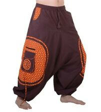 Trendy Harem Pants with Funky Pattern - Goa Hippie Trousers