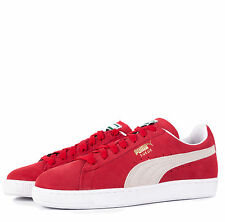 Puma Suede Classic+ Trainers in Red, RRP 54.99, *BNWT*