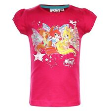 Winx Club - Girls T-Shirt pink Size 98 - 128
